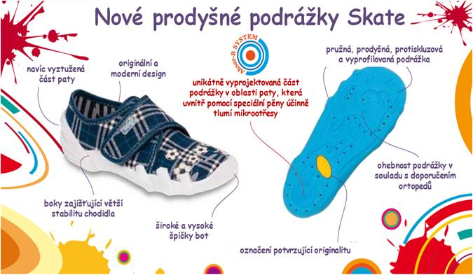 dětská obuv Befado Skate