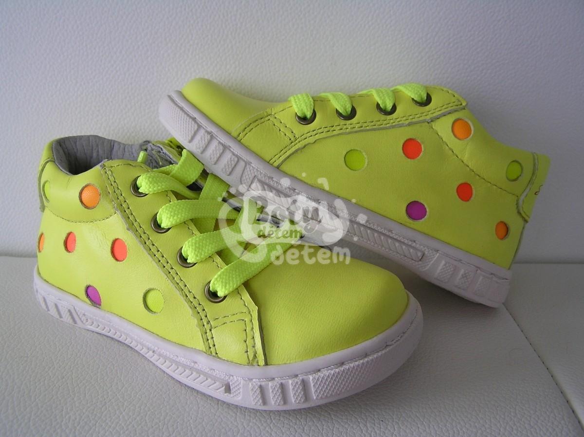 f03bb118894 Celoroční kožená obuv SANTÉ MY 2835 Yellow - v nabídce značky Befado ...