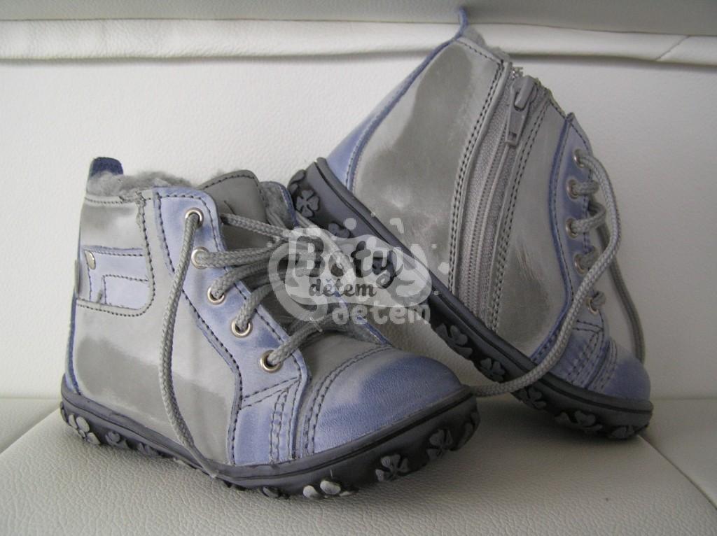 94018798998 Zimní kožená obuv SANTÉ N730 Modrá - v nabídce značky Befado-Demar ...
