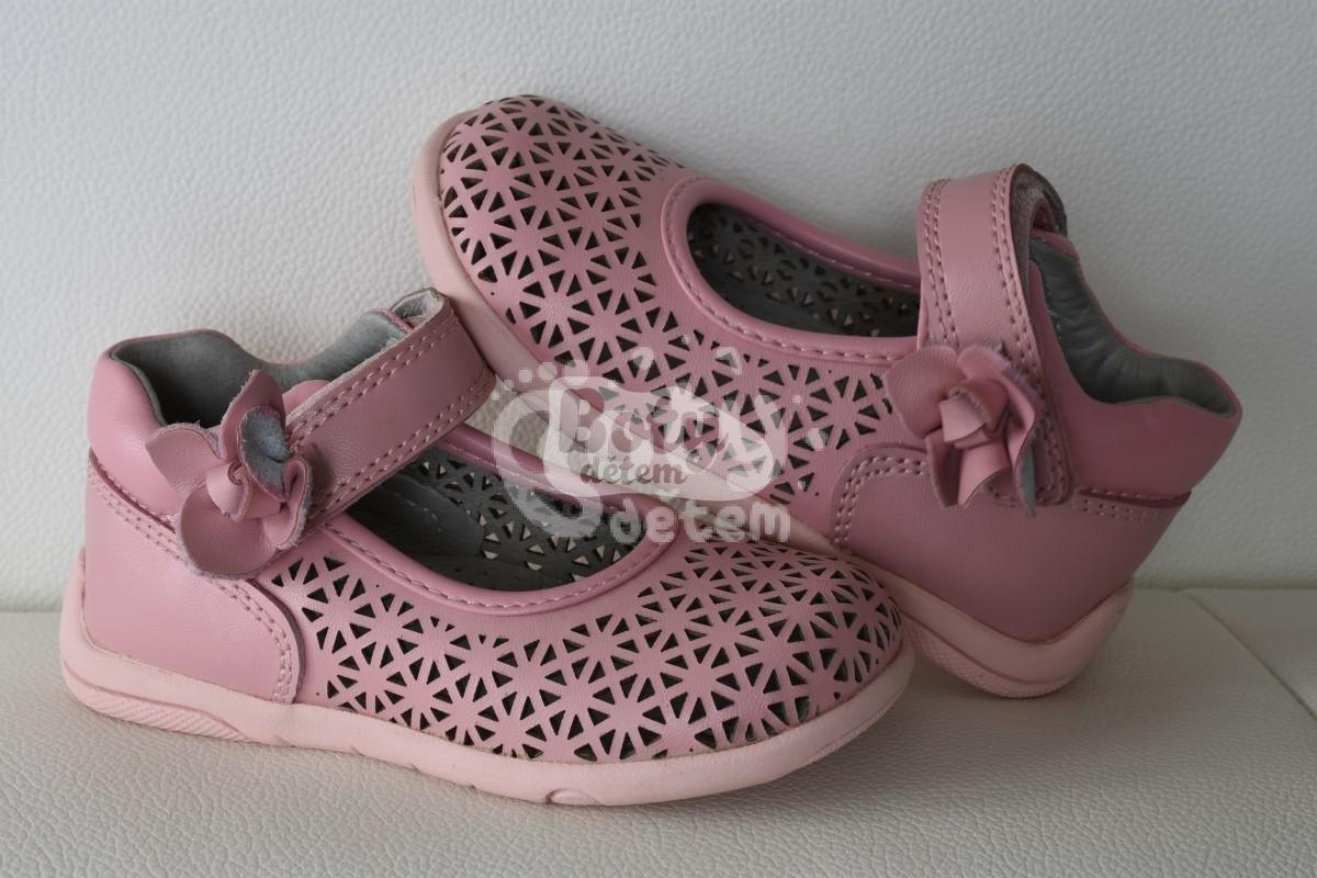 47b16a97ee6 SANTÉ kožené balerínky MY 2771 Pink - v nabídce značky Befado-Demar ...