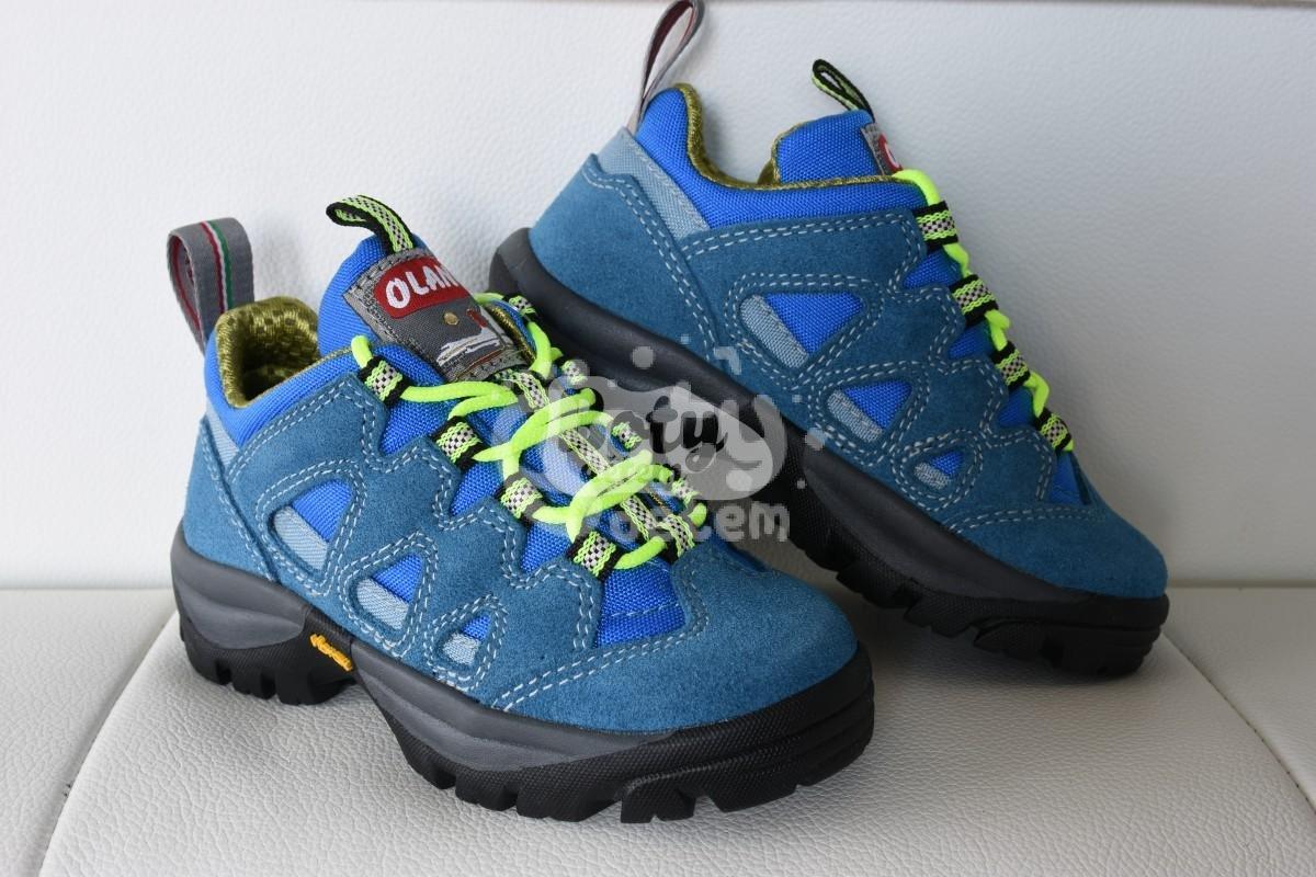 Celoroční treková obuv Olang CORVARA Kid 827 Royal - v nabídce ... 0d7b6cbcbf