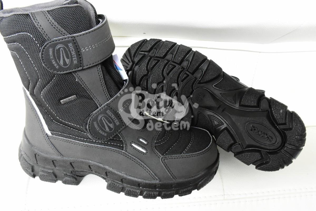 Zimní obuv Richter 7931-831-9901 černá - v nabídce značky Befado ... 49ac0f5f23