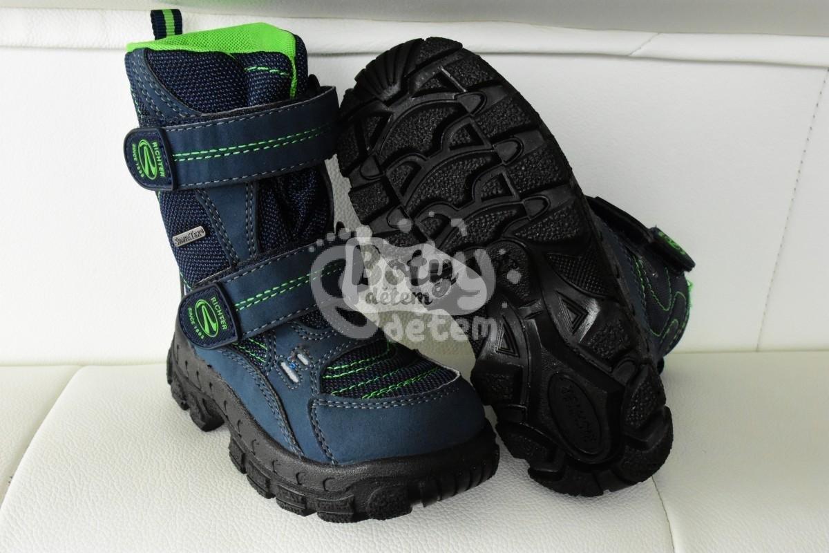 Zimní obuv Richter 7931-831-7204 modrá - v nabídce značky Befado ... eb2cd7fcd1