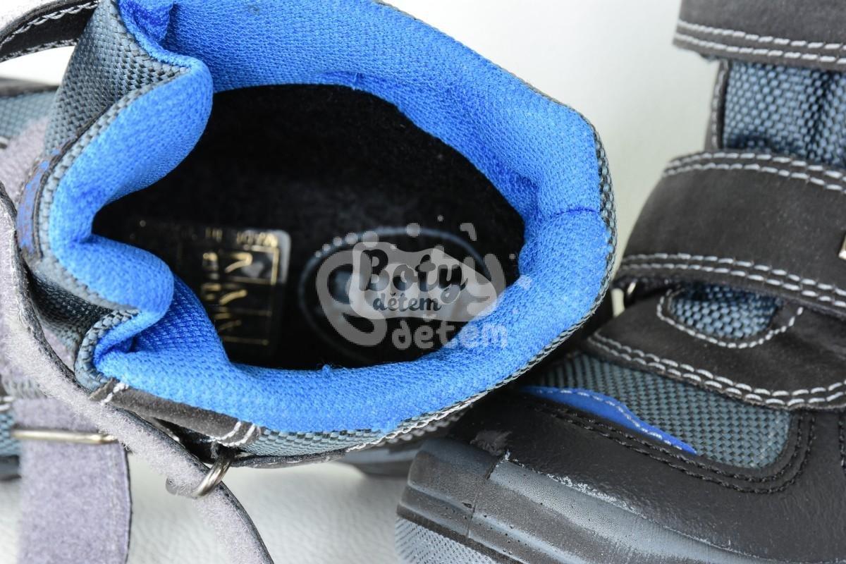 23713c01b95 Zimní obuv s membránou SANTÉ IC 64499 Grigio Modrá - v nabídce ...