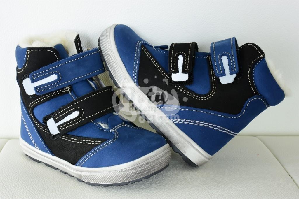 c36299d9267 Jonap zimní kožené boty 020 N modrá - v nabídce značky Befado-Demar ...