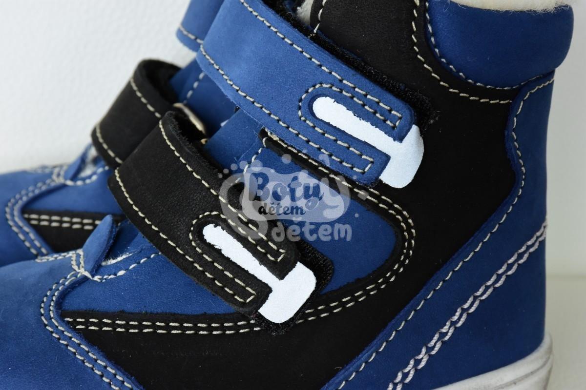 Jonap zimní kožené boty 020 N modrá - v nabídce značky Befado-Demar ... 132c4fd4b8