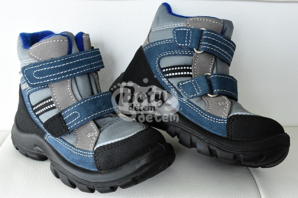 ad1a728de60 Zimní obuv s membránou SANTÉ OR 31112 Blunotte modrá - v nabídce ...