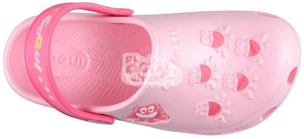 Sandálky Coqui Little Frog Candy pink/New rouge