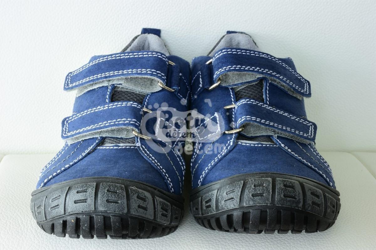 c5c6323fe9c Celoroční kožená obuv SANTÉ N 401 403 Modro-zelená - v nabídce ...