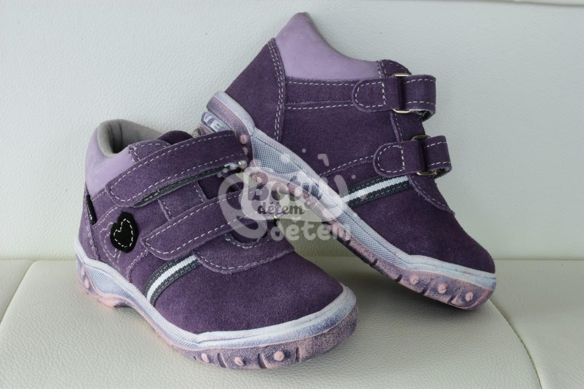 7e55b78b64c Celoroční kožená obuv SANTÉ HP 4803 F Fialová - v nabídce značky ...