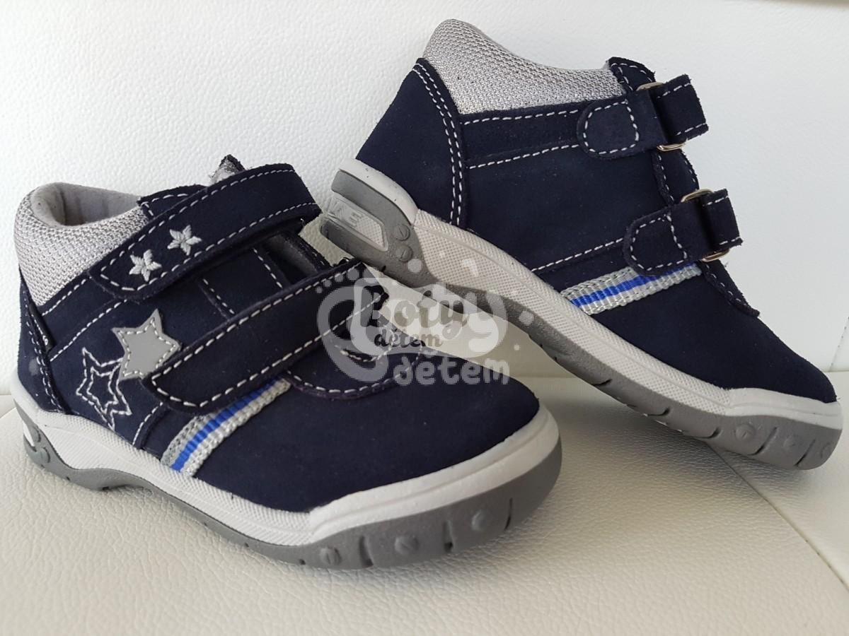 e06cf5b6cd3 Celoroční kožená obuv SANTÉ HP 4804C Tm. modrá - v nabídce značky ...
