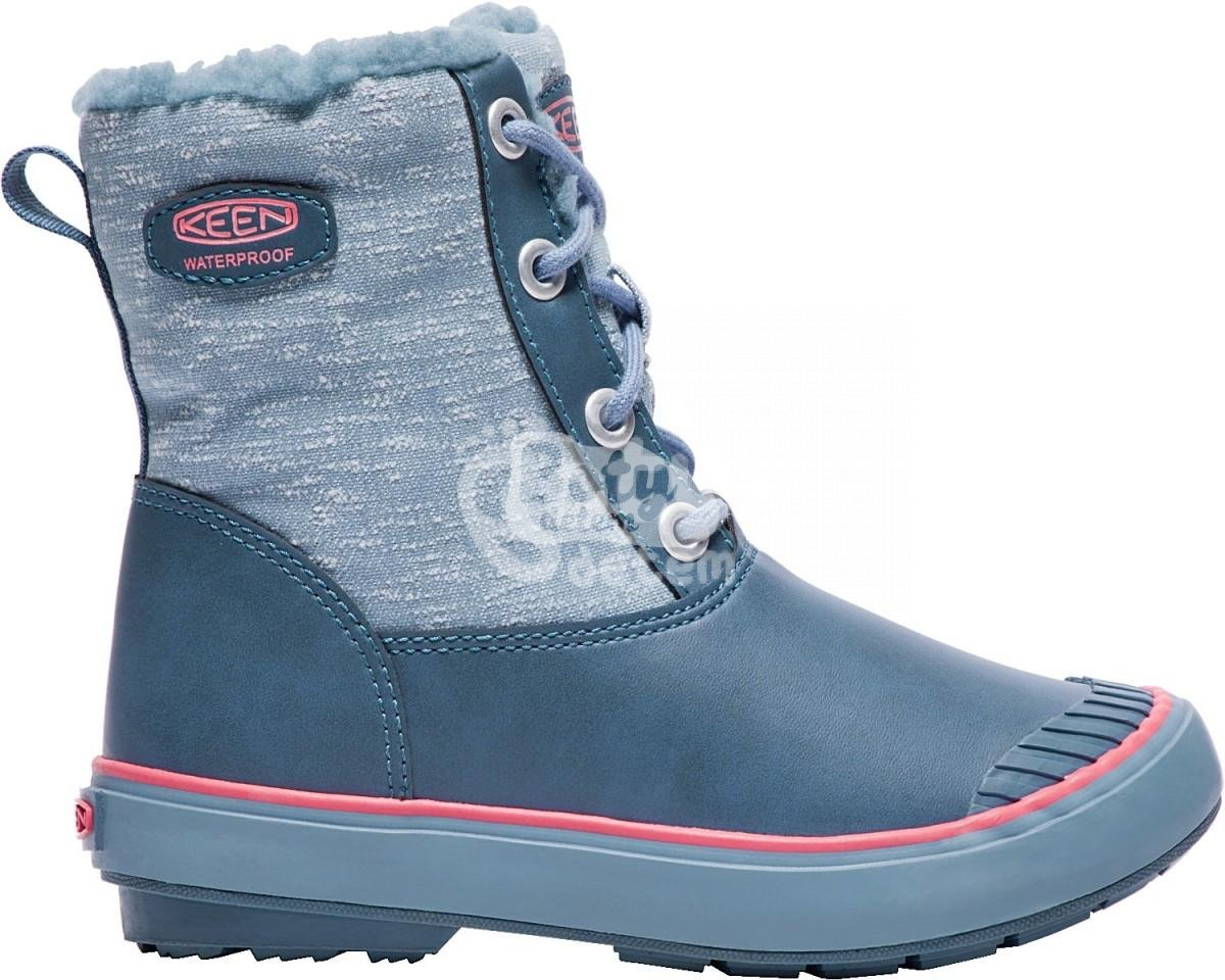 Boty KEEN Elsa Boot WP JR captains blue sugar coral - v nabídce ... 0479e12ebd