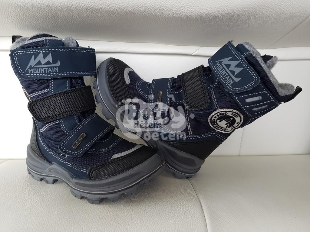 85281c5eecb7 Zimní obuv s membránou SANTÉ IC 84549 Blu Modrá - v nabídce značky ...