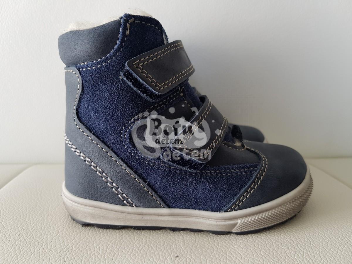 8aa59531be9 Jonap zimní kožené boty 020 N tmavomodrá - v nabídce značky Befado ...