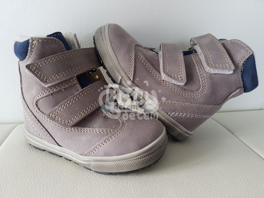 7fba7f3a15f Zimní kožená obuv Jonap 020 N šedo-modrá - v nabídce značky Befado ...