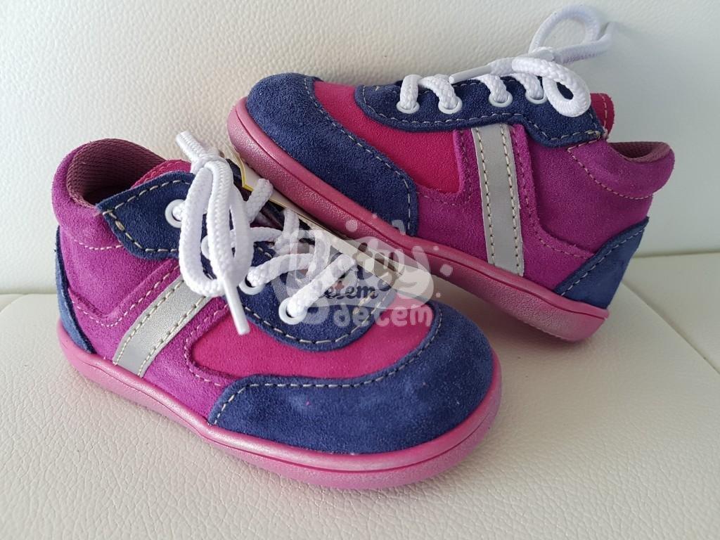 Celoroční kožená obuv Jonap 051 light modrá fialová - v nabídce ... a70a1e5a6a