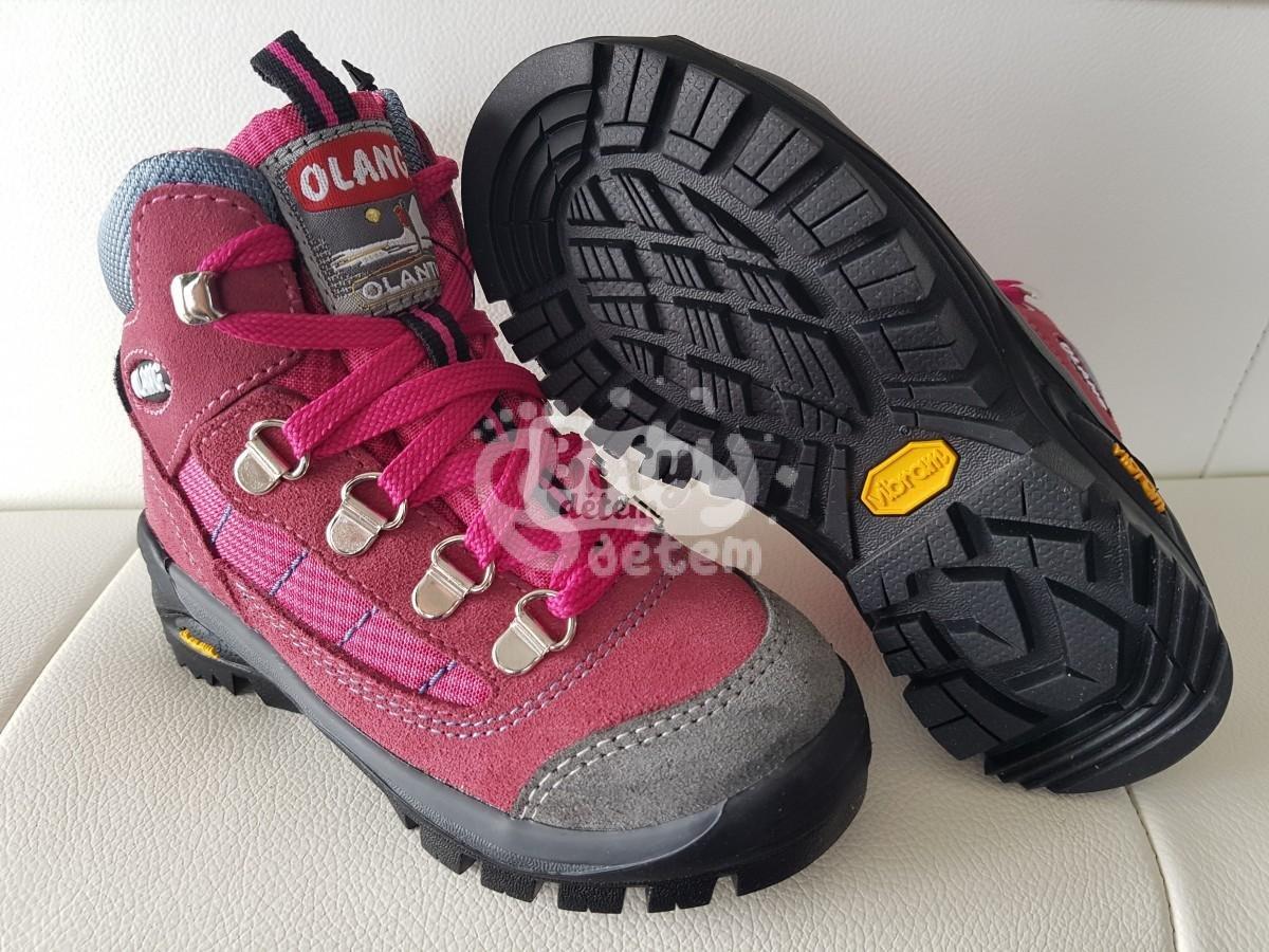 6f1b3a7895b Celoroční treková obuv Olang TARVISIO Kid Tex 828-1 Ciclamino - v ...