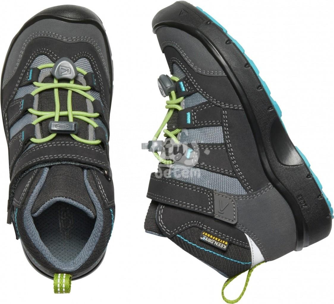 Boty KEEN Hikeport Mid WP K c-magnet/greenery