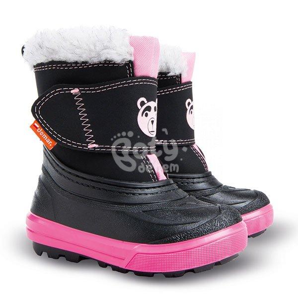 f05ddeac053 Dětské sněhule Demar BEAR B růžová - v nabídce značky Befado-Demar ...