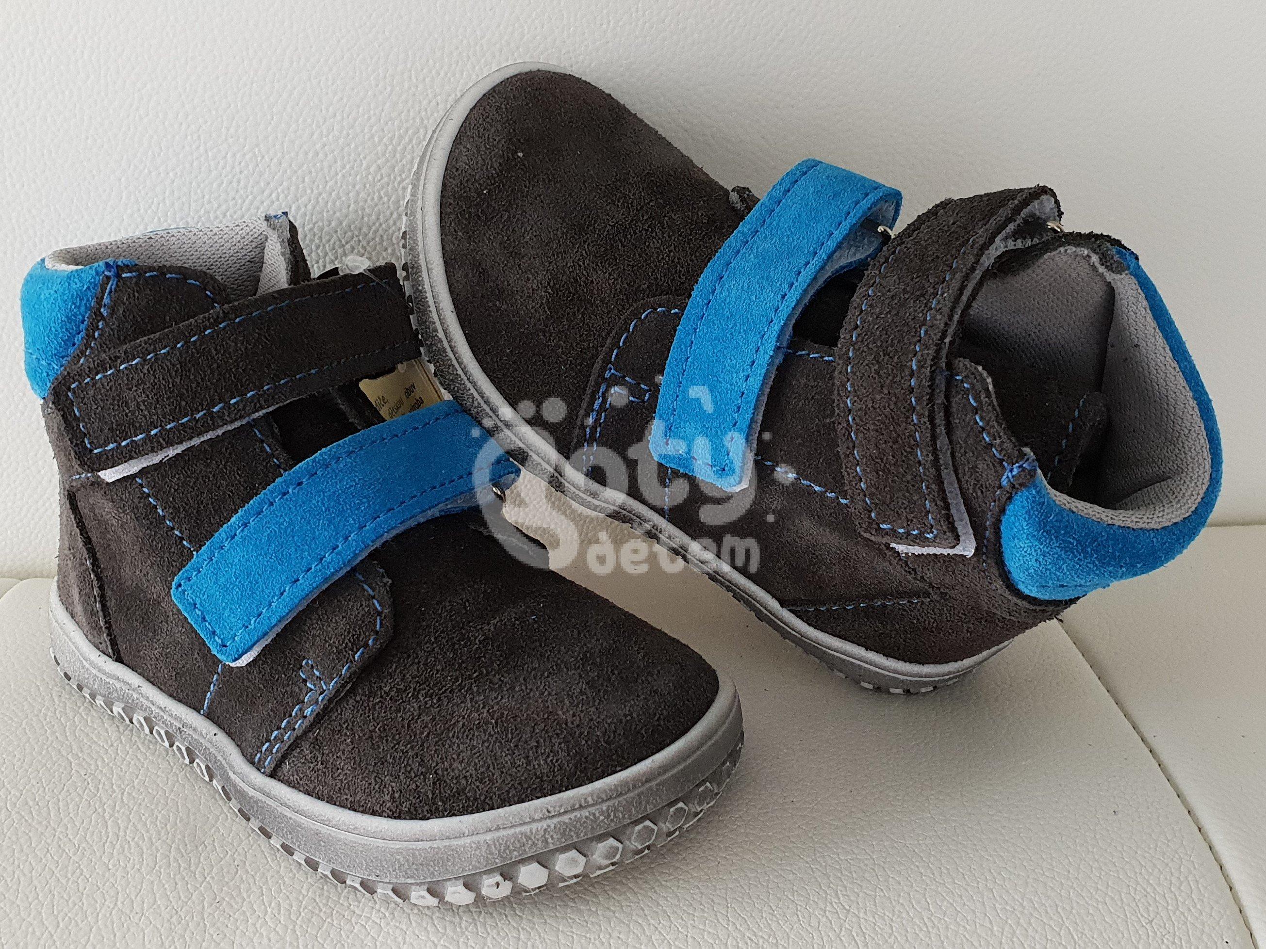 2f22c34d0eb Jonap barefoot boty B2V šedá-tyrkys - v nabídce značky Befado-Demar ...