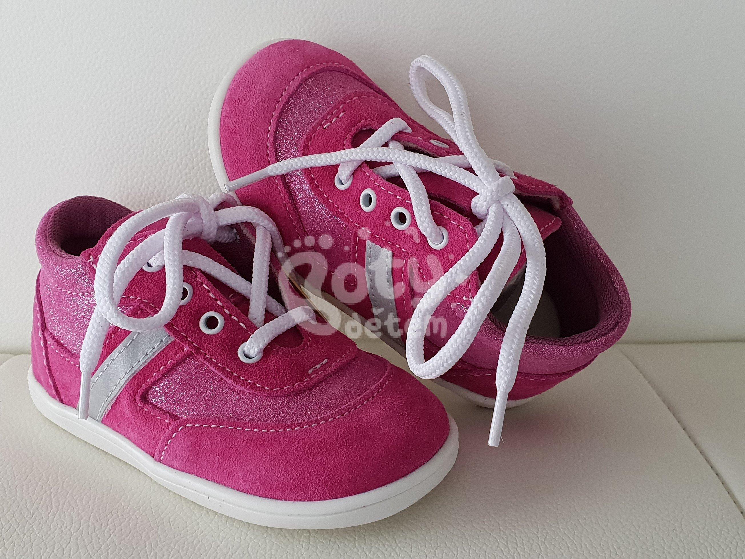 Celoroční kožená obuv Jonap 051 light růžová třpyt - v nabídce ... 5344bb6ff0