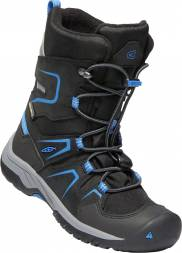 Boty KEEN Levo Winter WP JR c-black/baleine blue