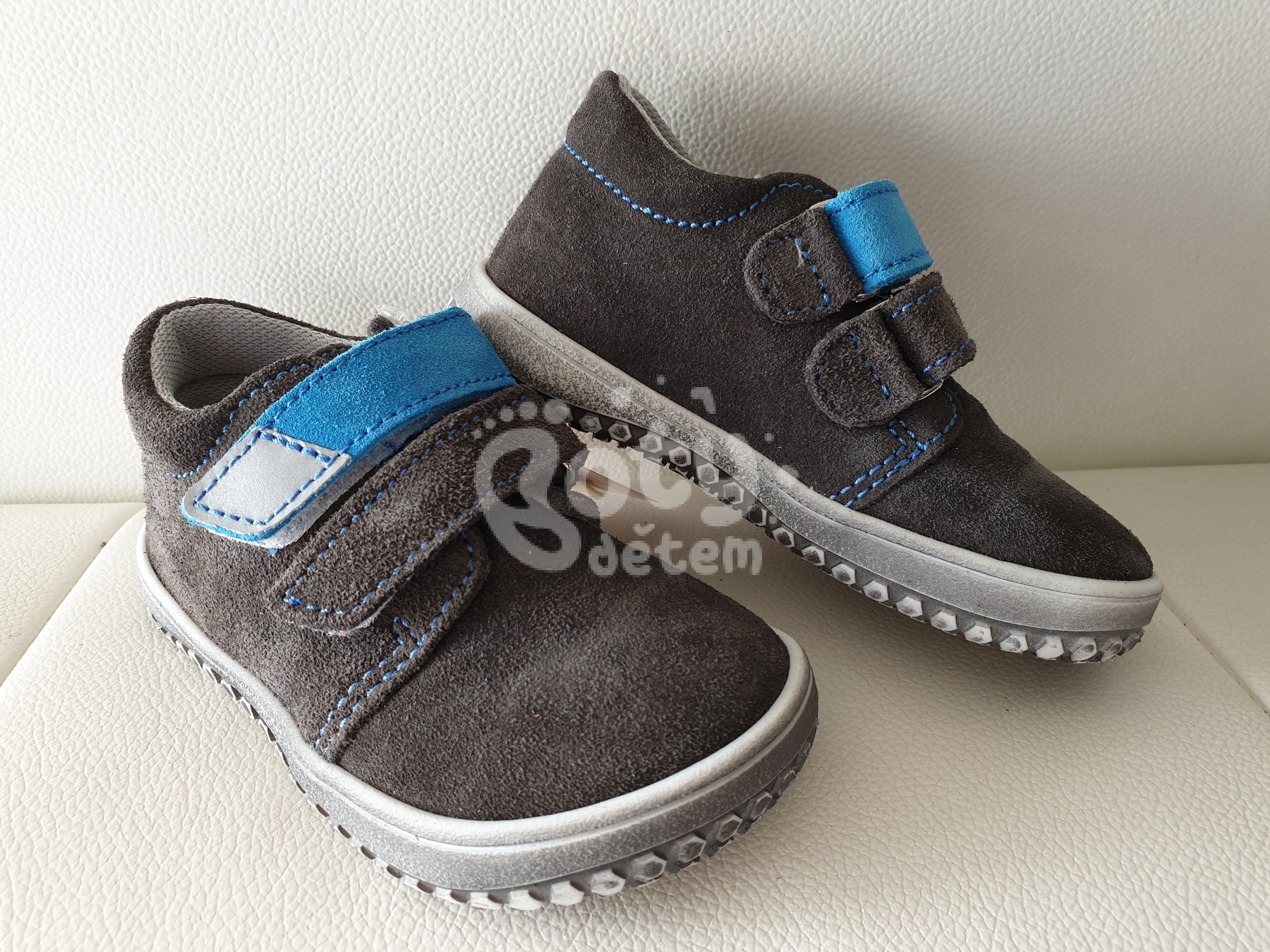 e6900c00680 Jonap barefoot boty B1V šedá-tyrkys - v nabídce značky Befado-Demar ...