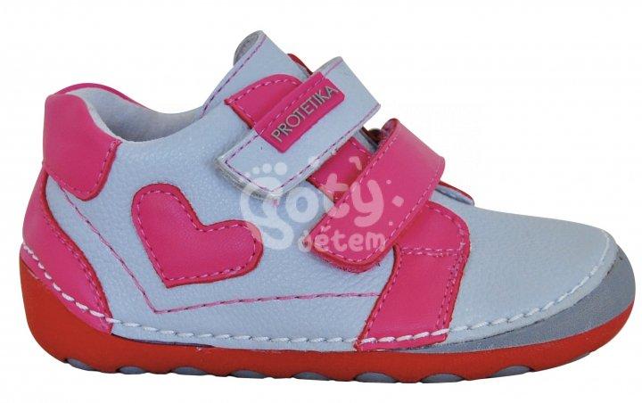 96a1fec7fb5 Protetika barefoot boty PONY grey - v nabídce značky Befado-Demar ...