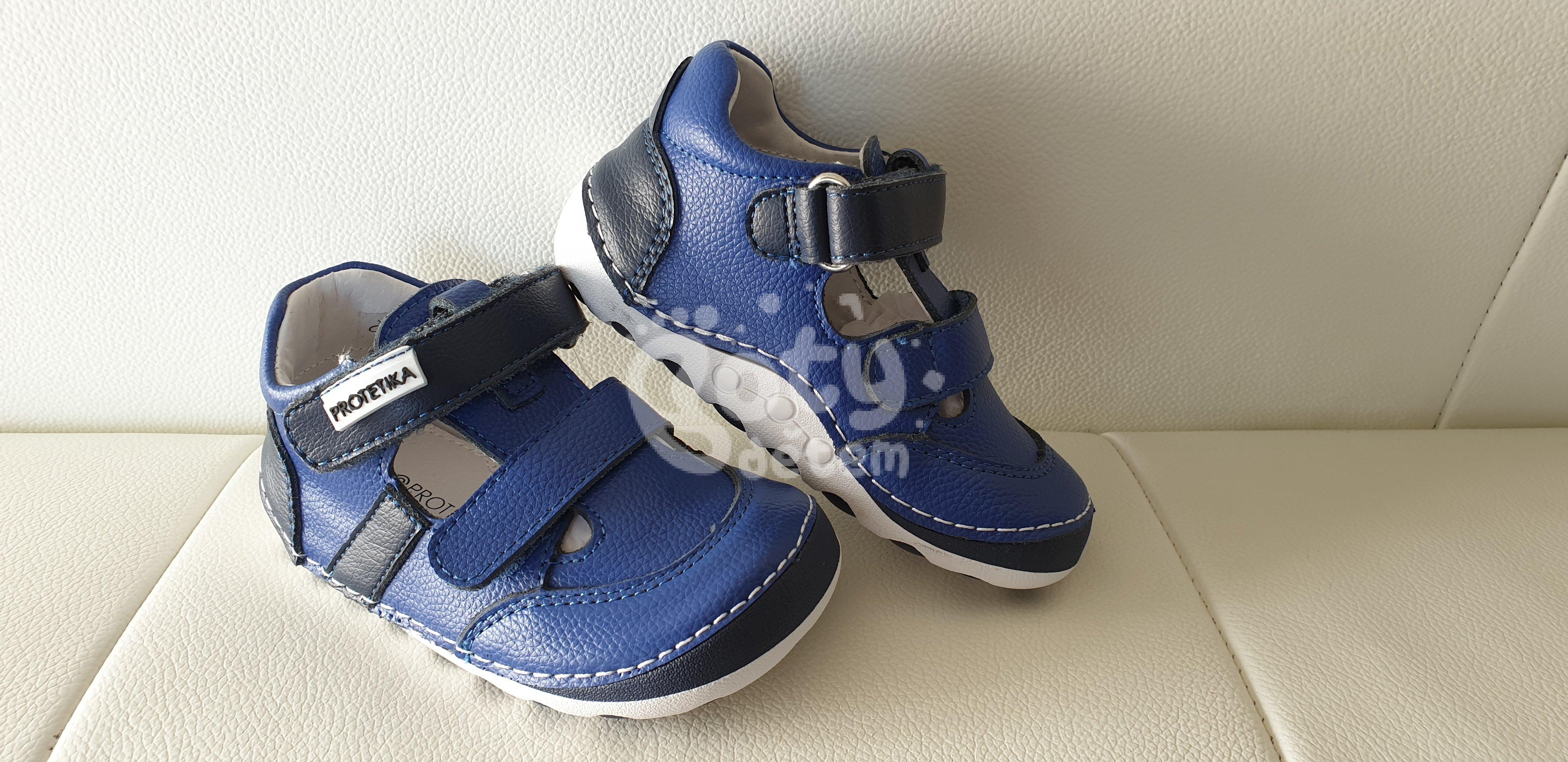 Protetika barefoot sandály FLIP navy - v nabídce značky Befado-Demar ... 6baad2a816