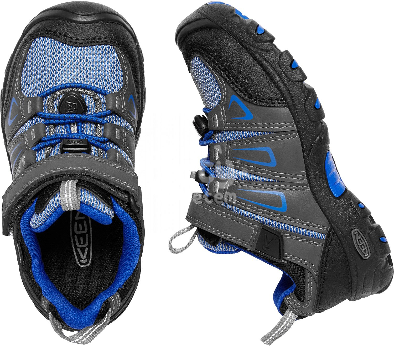 Boty KEEN Oakridge Low WP K magnet/true blue