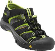Sandály KEEN Newport H2 Jr black/lime green