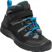 Boty KEEN Hikeport Mid WP K black/blue jewel