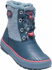 Boty KEEN Elsa Boot WP K captains blue/sugar coral