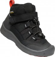 Boty KEEN Hikeport Mid WP K c-black/bright red