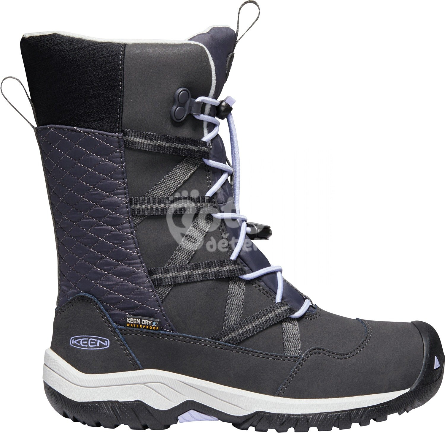 Boty KEEN Hoodoo WP JR c-black/sweet