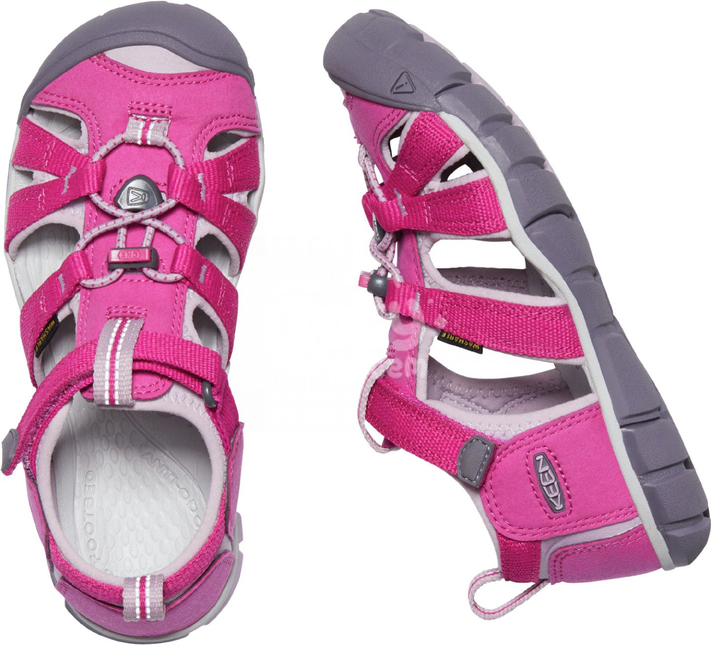 Sandály KEEN Seacamp II CNX K Very Berry/Dawn Pink