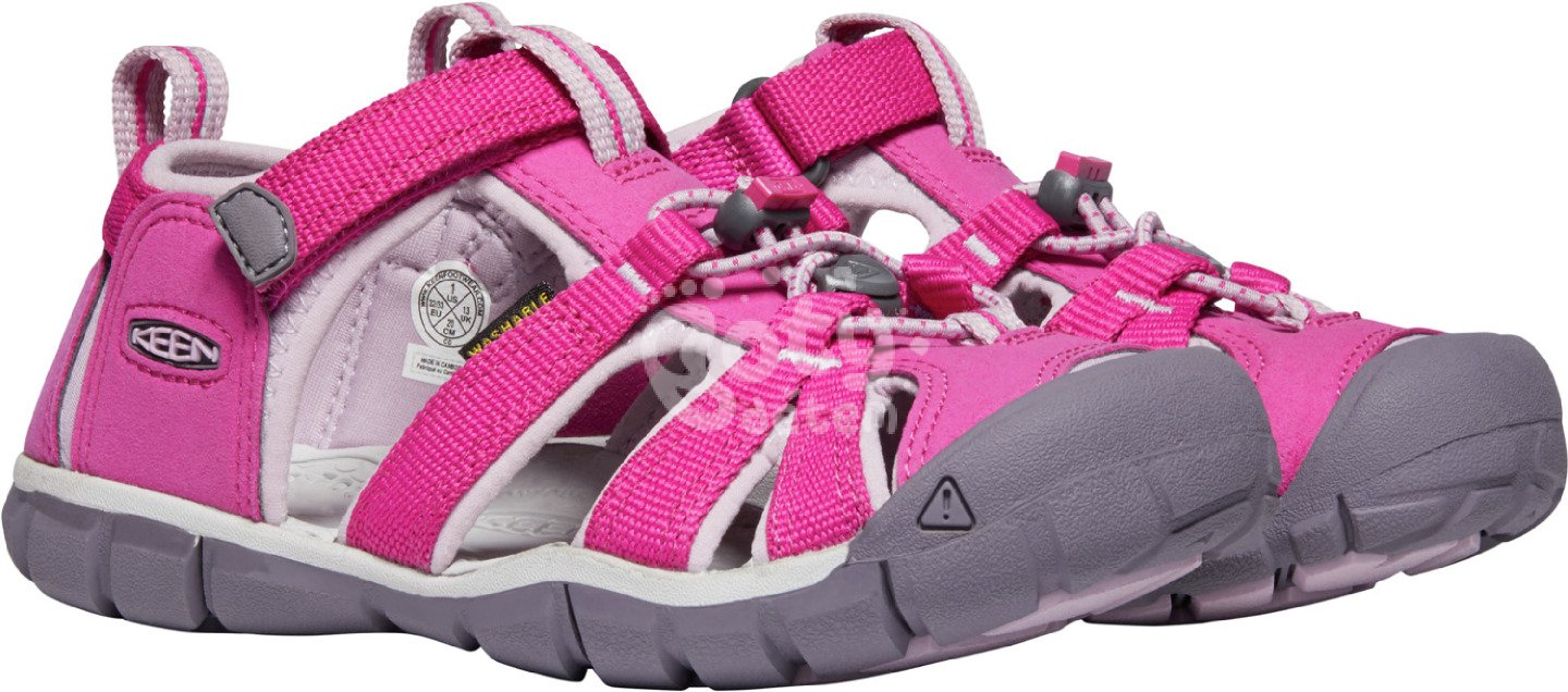 Sandály KEEN Seacamp II CNX Jr Very Berry/Dawn Pink